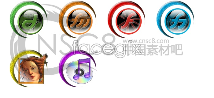 Series Crescent Silver icon