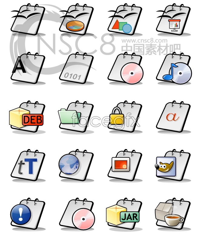 Series files for the calendar icon