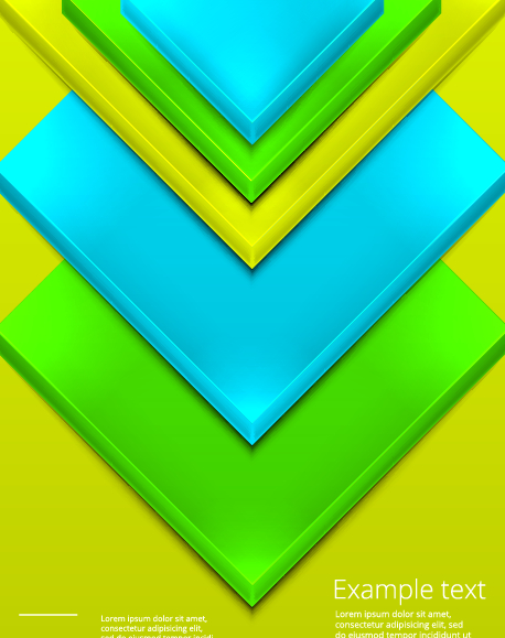 Shiny 3d geometry shapes background vector 03 free – Over