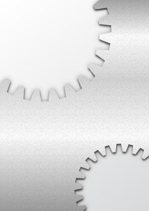 Shiny gray gear background vector free