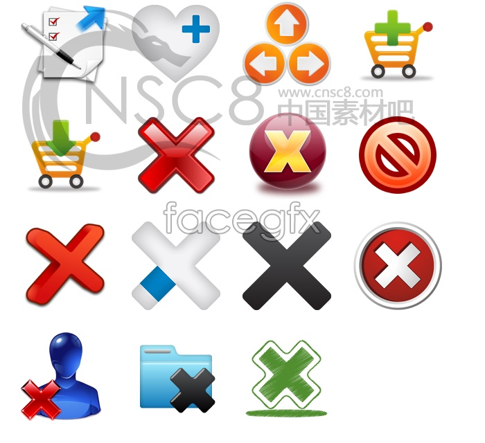 Signs desktop icons