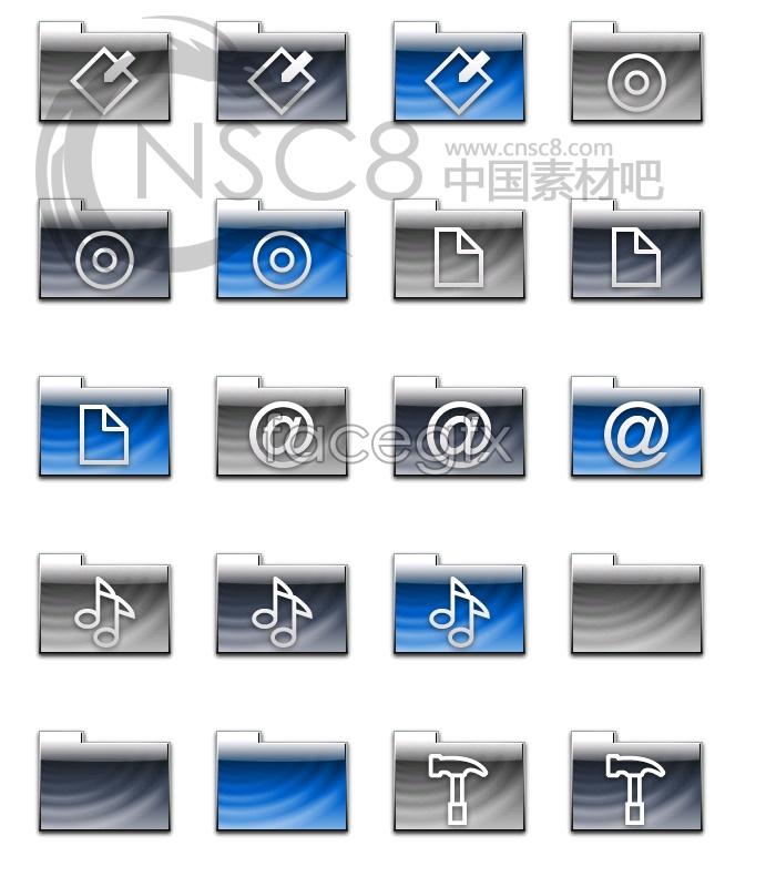 Simple creative folders