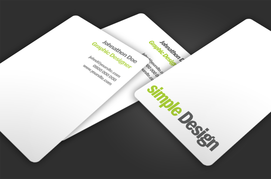 Simple design free business card template – Over millions vectors ...
