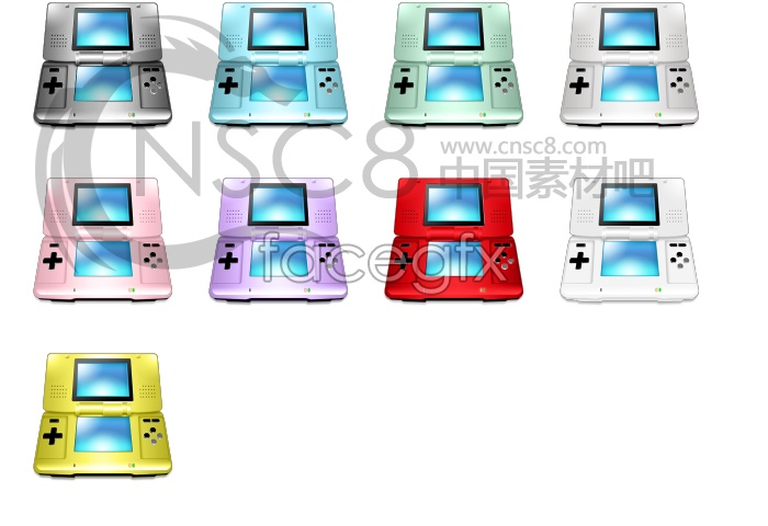 Simple DS series icons