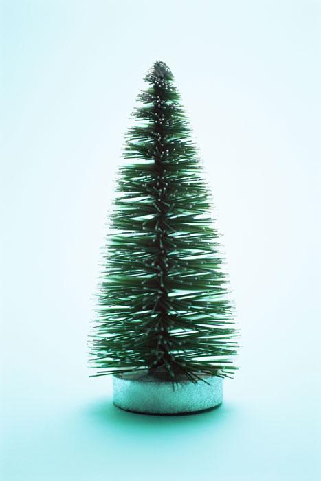 Simple green Christmas tree