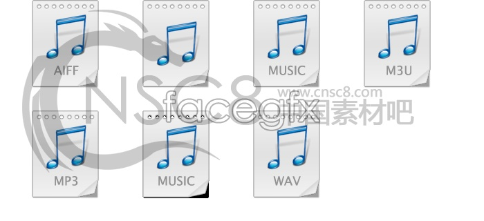 Simple MP3 music icon