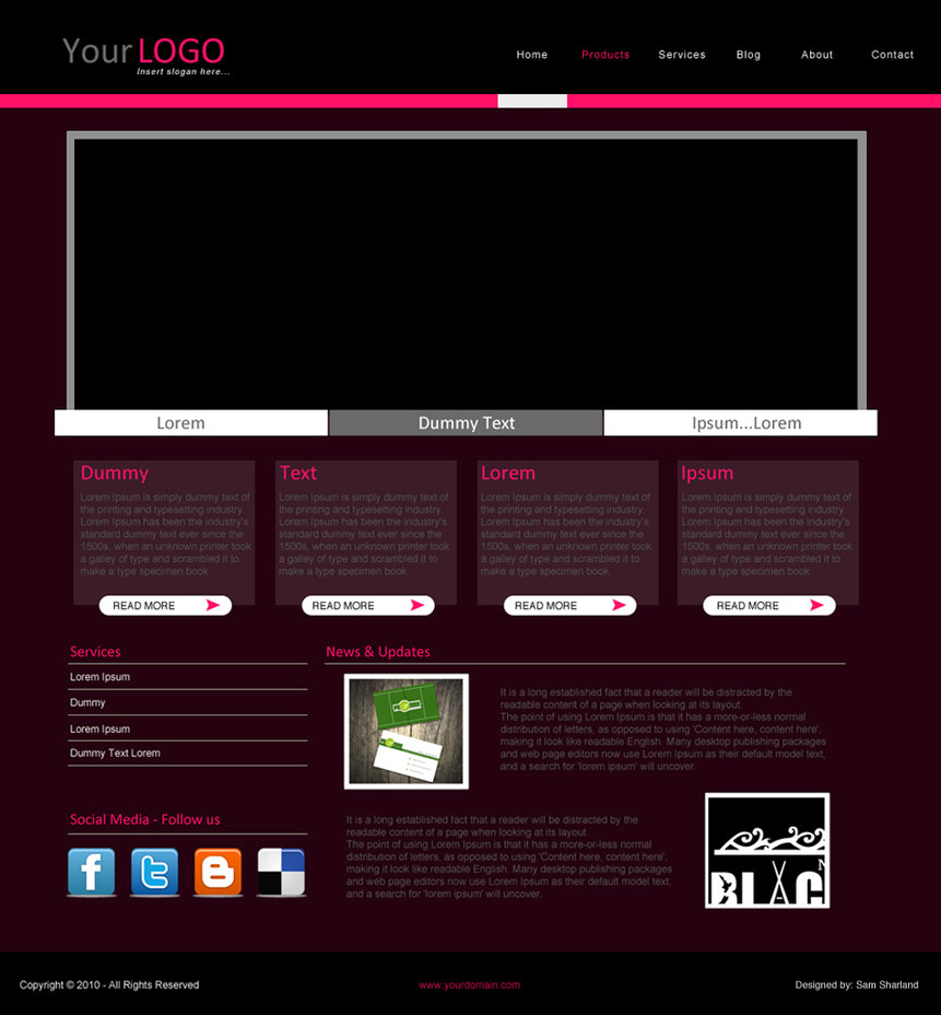 25 Best Free Simple Website Templates For All Famous Niches