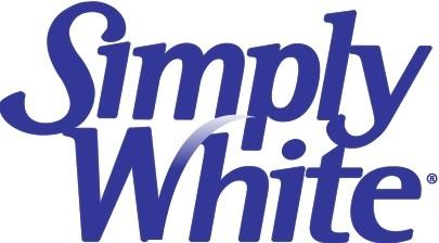 simply white logo