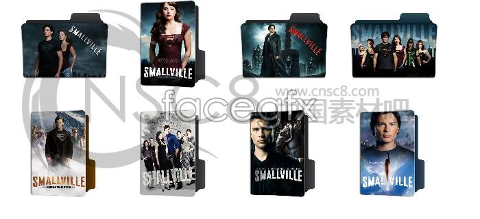 Smallvile movie icons