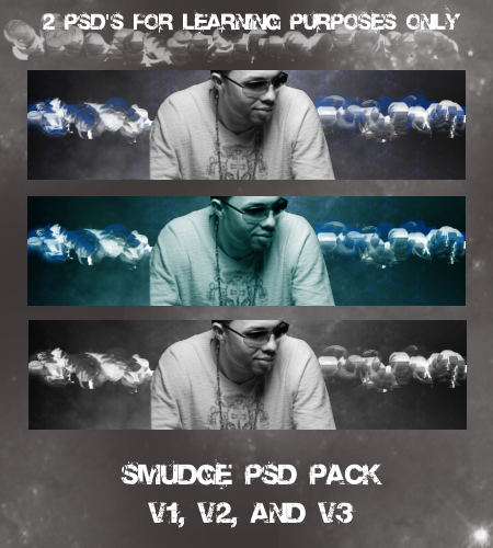 Smudge PSD Pack