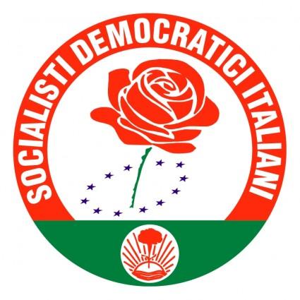 socialisti democratici italiani logo