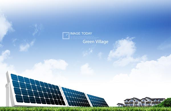 Solar Green concepts PSD
