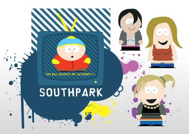 South Park Vectors free