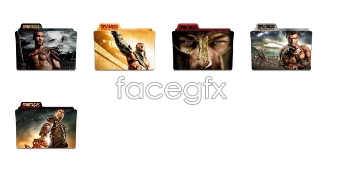 Spartan folder icons