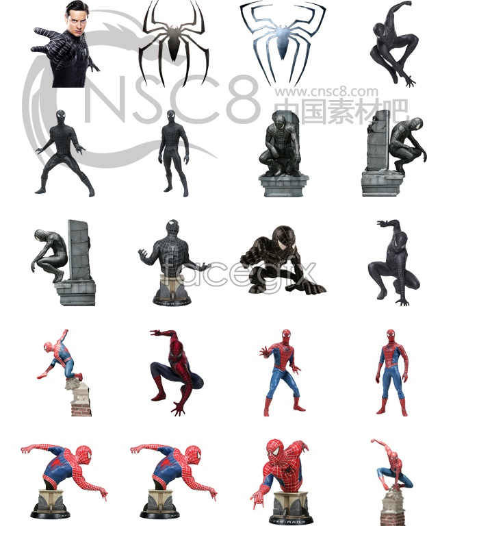 Spider-Man 3 movie icons