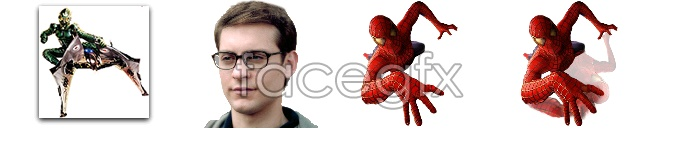 Spider-man fantastic action icons