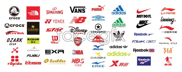 8b2b82af330f07 vector logo brand Sports – Over millions vectors