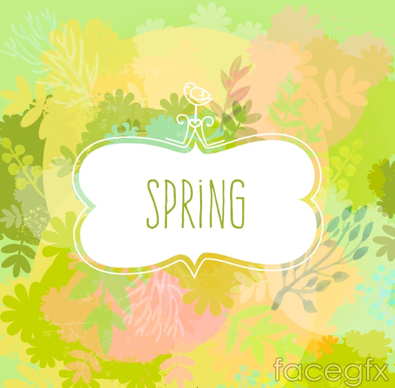 Spring Of Fresh Water Background Vector – Over Millions Vectors