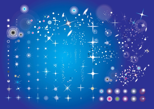 Star Effects vector free