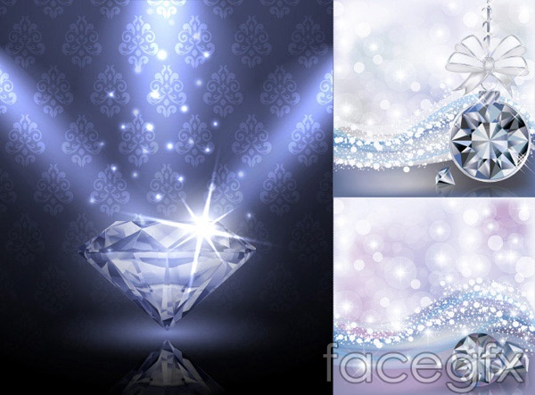 diamond vector background - photo #8