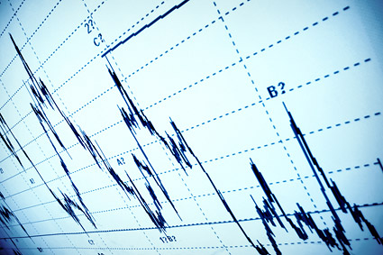 Stock graph picture material