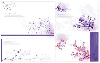 stylish and elegant flower pattern vector