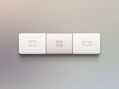 Subsection control buttons