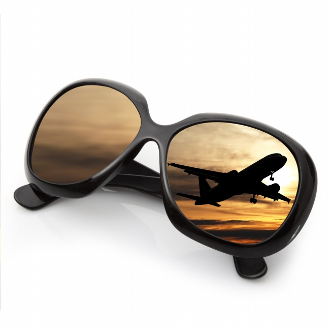 Sunglasses in aviation aircraft pictures
