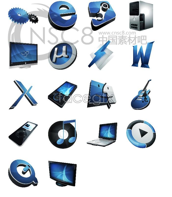 Super classic desktop icons