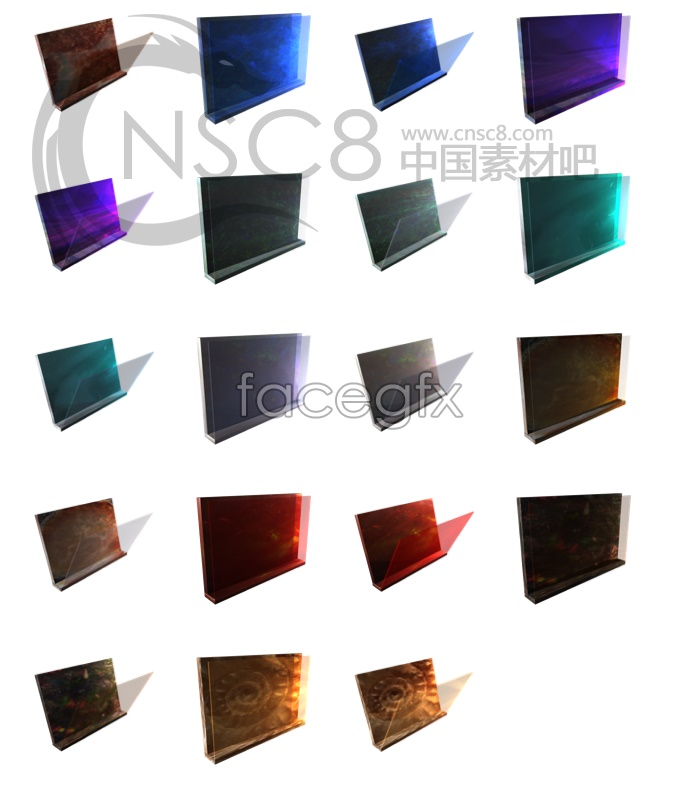 Super elegant texture folder icon