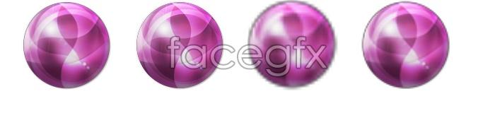 Super glare glow ball icon