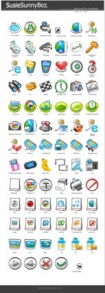 SusieSunnyBaz Icons icons pack