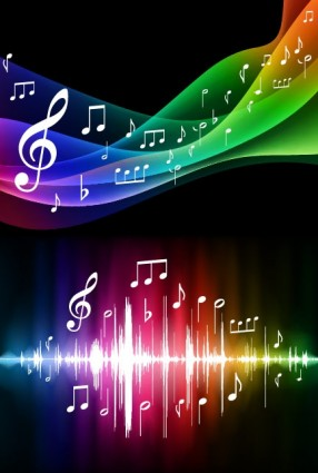 symphony music background vector