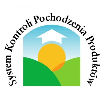 system kontroli pochodzenia produktow logo