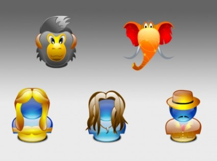 Tarzan lumina style Icons icons pack