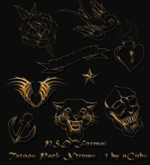 Tatoos Xtreme Pack 1