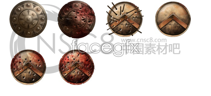 Texture King Conan Shields icons