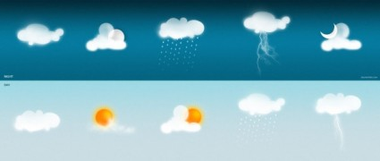the gentle weather icon psd