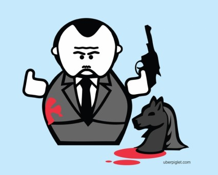The Godfather Cartoon