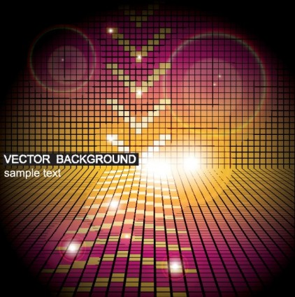 the gorgeous starstudded background 02 vector
