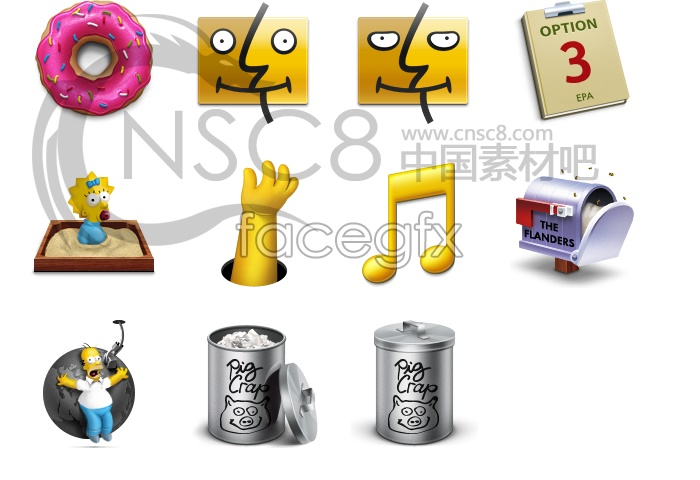 The Simpsons theme icon