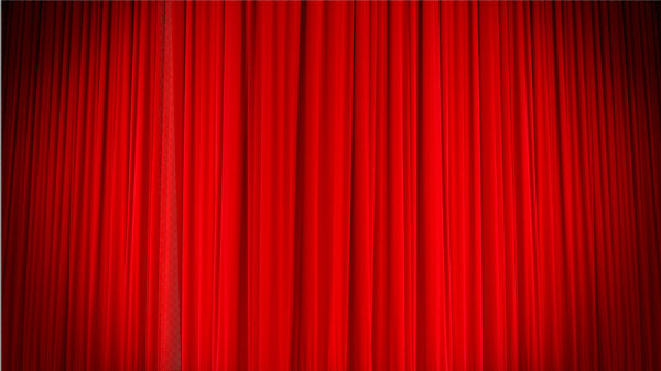 The Stage Curtain Background Psd