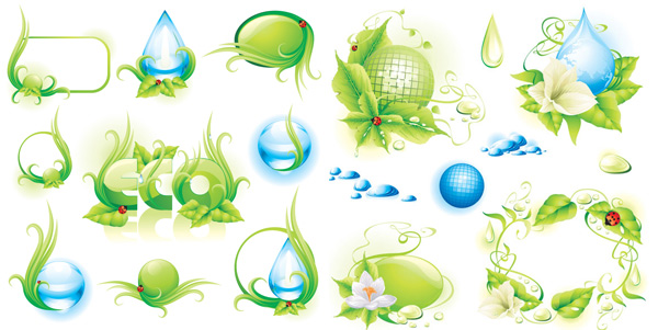 Themes of environmental protection material