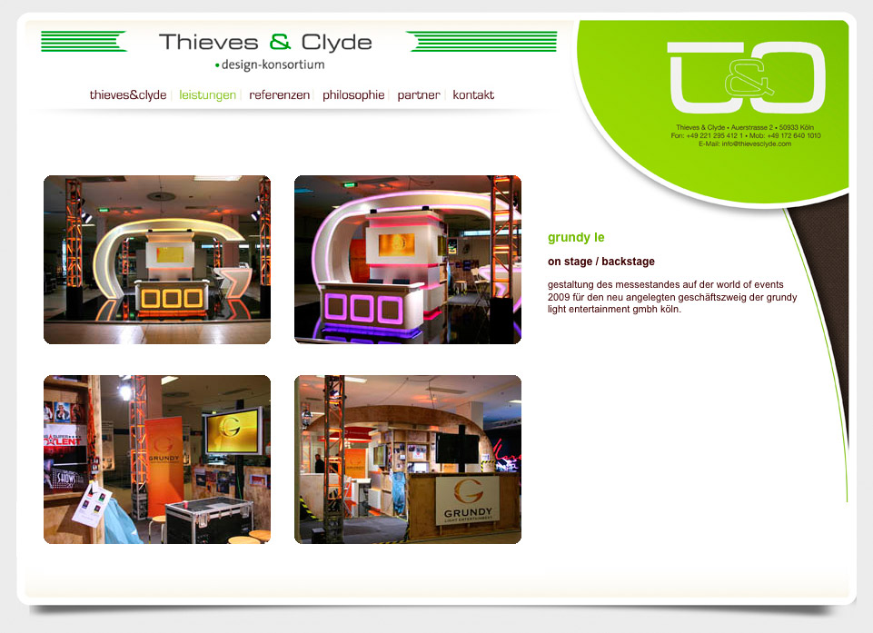 Thieves And Clyde Design