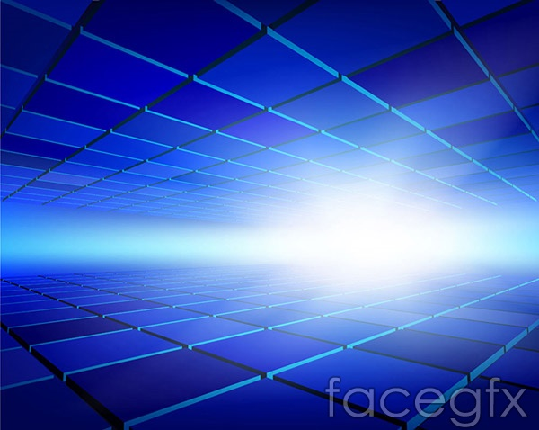 Vector Square Background Hd Vector Three Dimensional: Three-dimensional Space Vector