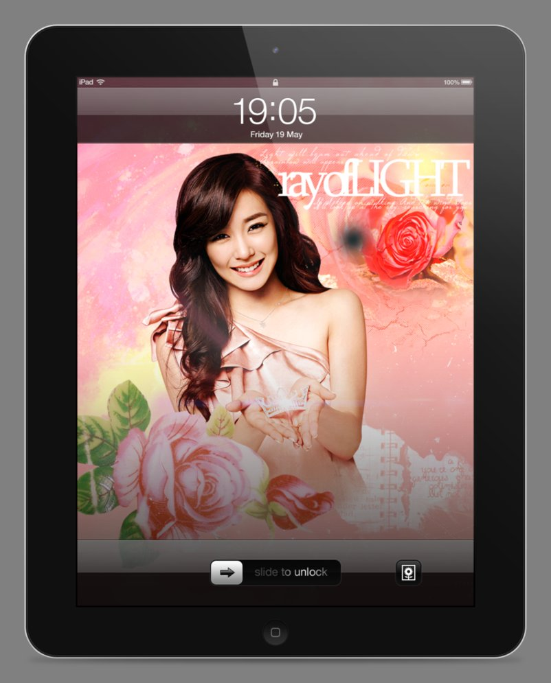 Tiffany iPad Wallpaper