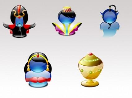 Tiny aladdin Lumina icons icons pack