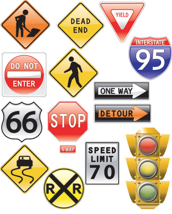 traffic signs theme – over millions vectors, stock photos, hd, Powerpoint templates
