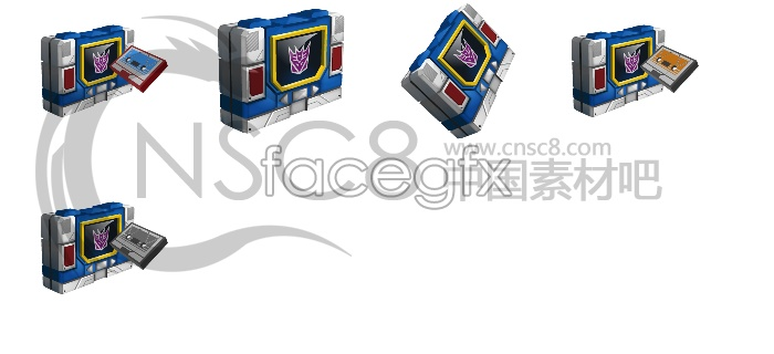 Transformers Blaster Tenko icon