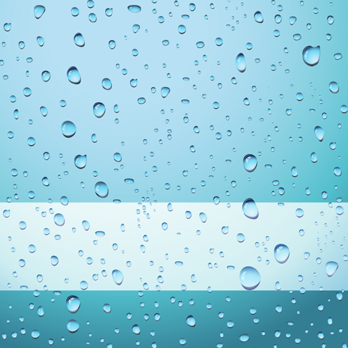 Transparent water drops design background vector 02 free – Over